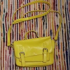 Vintage Yellow Crossbody